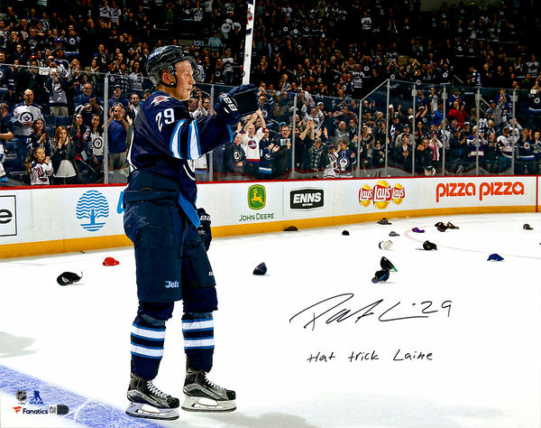 Patrik Laine Signed Photo Hat Trick