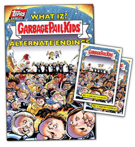 Topps Comics Garbage Pail Kids 4