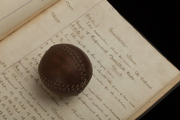 1876 Major League Baseball Constitution
