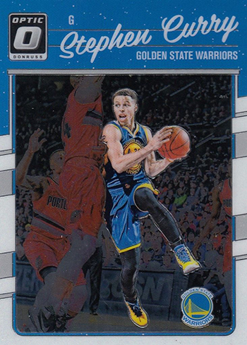 2016-17 Donruss Optic Basketball 135 Stephen Curry
