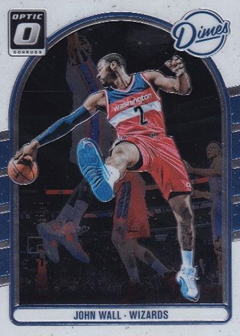 2016-17 Donruss Optic Basketball Dimes John Wall