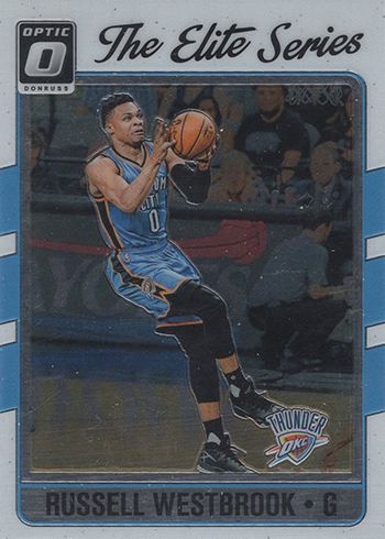2016-17 Donruss Optic Basketball Elite Series Russell Westbrook
