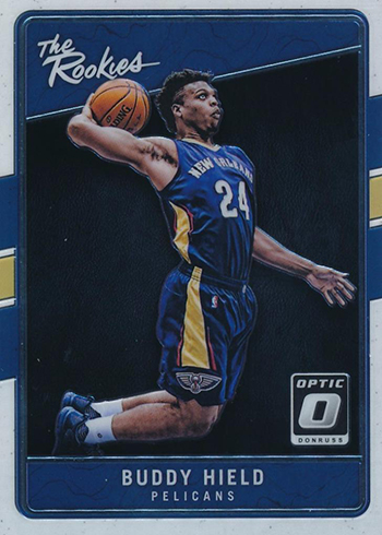 2016-17 Donruss Optic Basketball The Rookies Buddy Hield