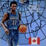2016-17 Panini Aficionado Basketball Global Reach Andrew Wiggins