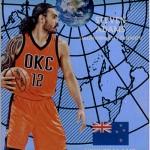 2016-17 Panini Aficionado Basketball Global Reach Steven Adams