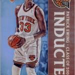2016-17 Panini Aficionado Basketball Inducted Patrick Ewing