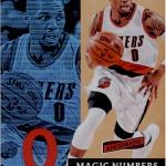 2016-17 Panini Aficionado Basketball Magic Numbers Lillard