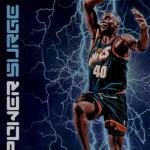 2016-17 Panini Aficionado Basketball Power Surge Shawn Kemp