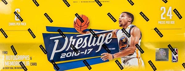 2016-17 Prestige Hobby Box