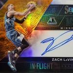 2016-17 Select Basketball In Flight Signatures Orange LaVine