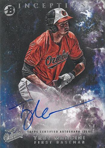 2016 Bowman Inception Prospect Autographs Trey Mancini