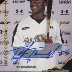 2017 Bowman All-America Game Autographs Taylor Trammell