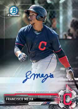 2017 Bowman Chrome Prospect Autographs