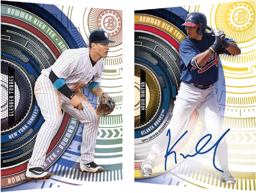 Image result for 2017 Bowman high tek IMAGES