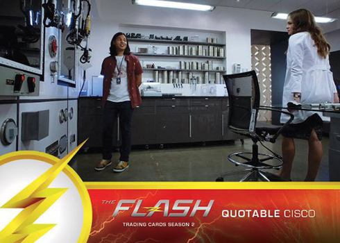 2017 Cryptozoic Flash Season 2 Quotable Cisco