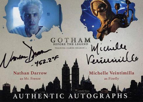 2017 Cryptozoic Gotham Season 2 Dual Autograph