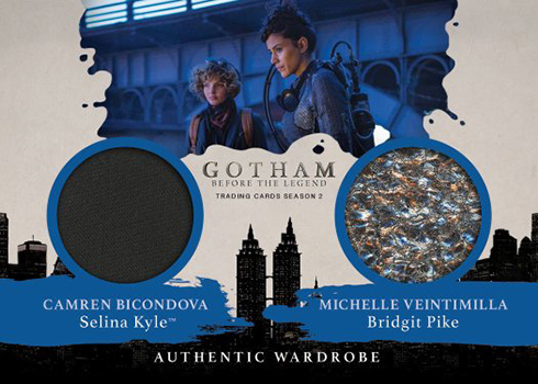 2017 Cryptozoic Gotham Season 2 Dual Wardrobe