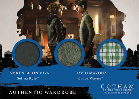 2017 Cryptozoic Gotham Season 2 Triple Wardrobe