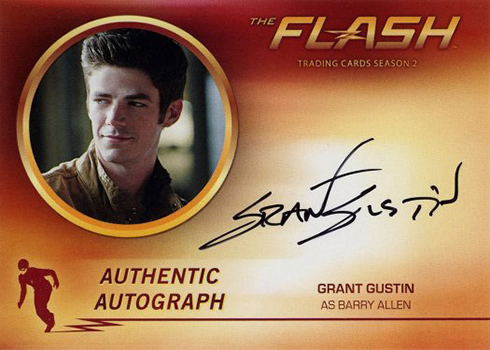 2017 Cryptozoic The Flash Season 2 1 Grant Gustin as Barry Allen