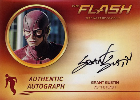 2017 Cryptozoic The Flash Season 2 B Grant Gustin as The Flash