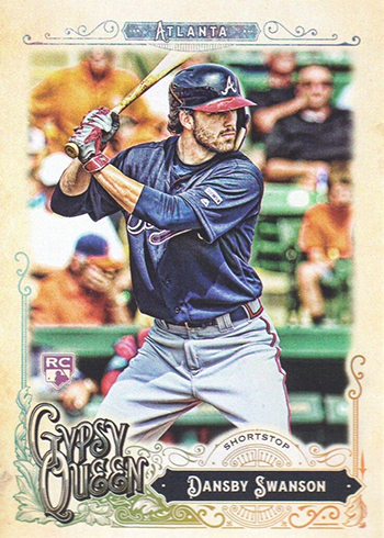 2017 GQ 91 Dansby Swanson