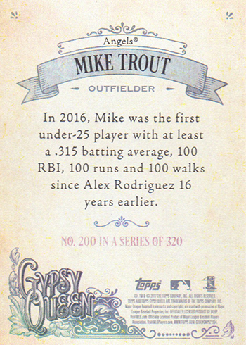 2017 GQ Back 200 Trout