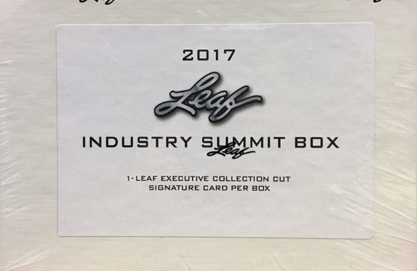 2017 Industry Summit Leaf White Box
