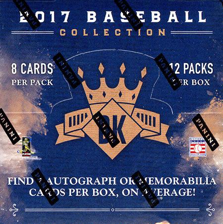 2017 Panini Diamond Kings Baseball Hobby Box
