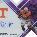 2017 Panini Elite Draft Picks Football Autographs Derek Barnett 99