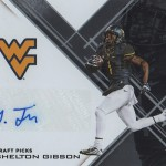 2017 Panini Elite Draft Picks Football Autographs Shelton Gibson