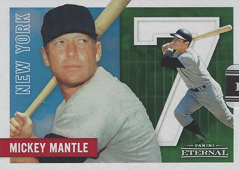 2017 Panini Industry Summit Mickey Mantle MM1