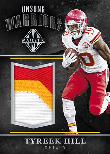 2017 Panini Majestic Football Unsung Warriors Tyreek Hill