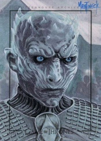 2017 Rittenhouse Game of Thrones Season 6 Sketch Card Warren Martinek