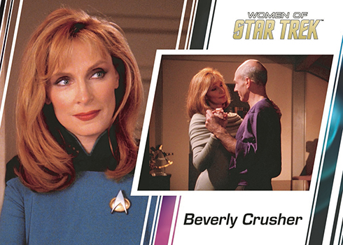 2017 Rittenhouse Women of Star Trek 50th Anniversary Promo Beverly Crusher