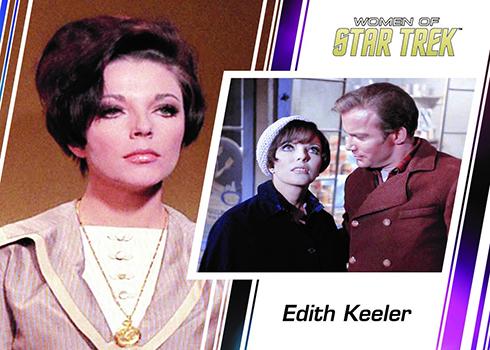 2017 Rittenhouse Women of Star Trek 50th Anniversary Promo Edith Keeler