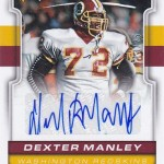 2017 Score Football Inscriptions Dexter Manley