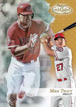 2017 Topps Gold Label Baseball Base Class 3 Gold