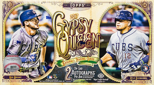 2017 Topps Gypsy Queen Hobby Box