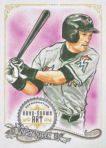 2017 Topps Gypsy Queen Portrait Art Reproductions Ichiro