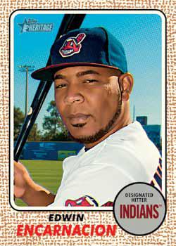 2017 Topps Heritage High Number Baseball Edwin Encarnacion