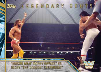 2017 Topps Legends of WWE Legendary Bouts