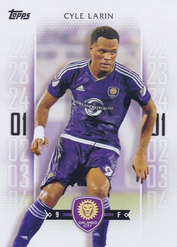 2017 Topps MLS 146 Cyle Larin Purple