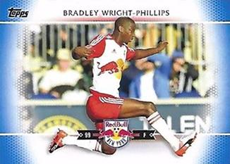 2017 Topps MLS 40 Bradley Wright-Phillips Blue