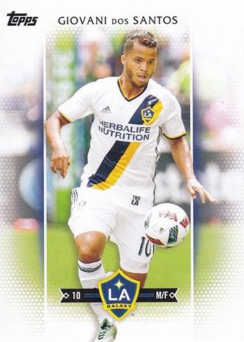 2017 Topps MLS 5 Giovani dos Santos White