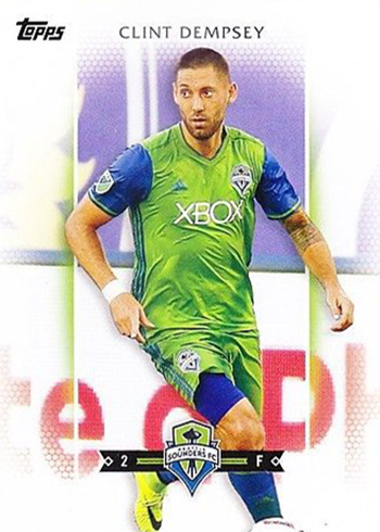2017 Topps MLS Base Clint Dempsey