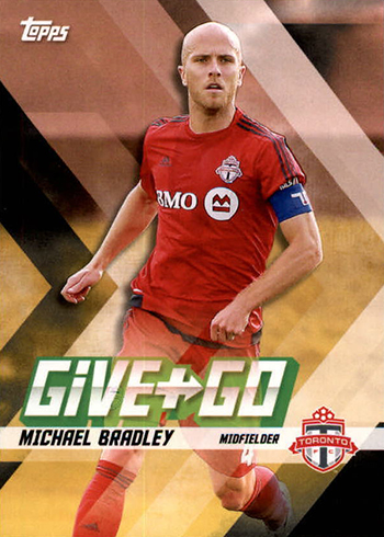 2017 Topps MLS Give and Go Michael Bradley