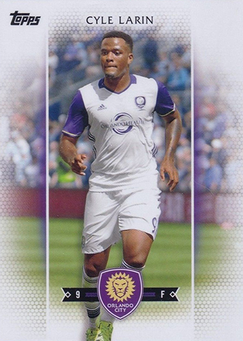 2017 Topps MLS Variation Cyle Larin