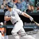 22 Matt Holliday