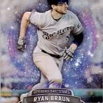 2017 Topps Opening Day Opening Day Stars Ryan Braun