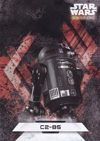 2017 Topps Rogue One Series 2 Character Stickers